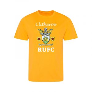 Kids T Shirt Clitheroe RUFC Club Logo