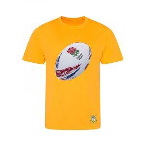 Kids T Shirt Rugby Ball design